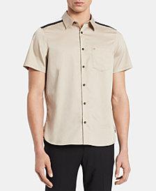 Calvin Klein Men's Reeves Pieced Shirt