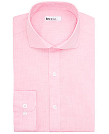 Bar III Men's Slim-Fit Performance Stretch Solid Dress Shirt, Created for Macy's
