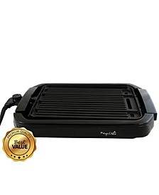 Dual Surface Reversible Indoor Grill and Griddle