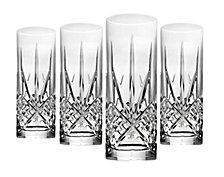 Godinger Dublin Mix Set of 4 Tom Collins Highball Glasses