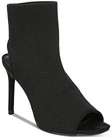 Bar III Nilla Peep-Toe Booties, Created for Macy's