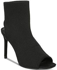 Bar III Nilla Peep-Toe Booties, Created for Macy's