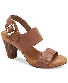 Giani Bernini Aikko Memory-Foam Sandals, Created for Macy's