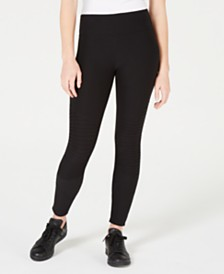 Planet Gold Juniors' Moto Leggings