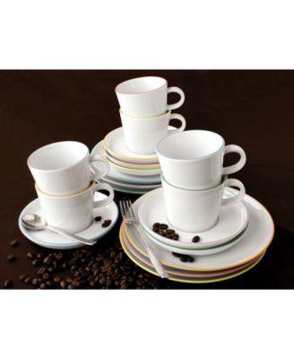 Cucina Basic Colori Bowl Set/6