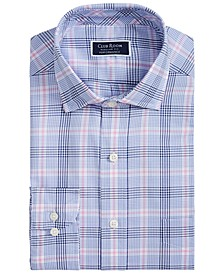 Men's Classic-Fit Glenplaid Shirt, Created for Macy's