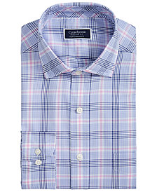 Club Room Men's Classic-Fit AlfaTech Glenplaid Shirt, Created for Macy's