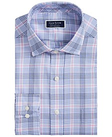Club Room Men's Classic-Fit Glenplaid Shirt, Created for Macy's