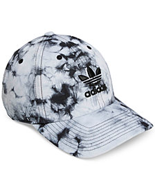 adidas Originals Cotton Relaxed Tie-Dyed Strapback Cap