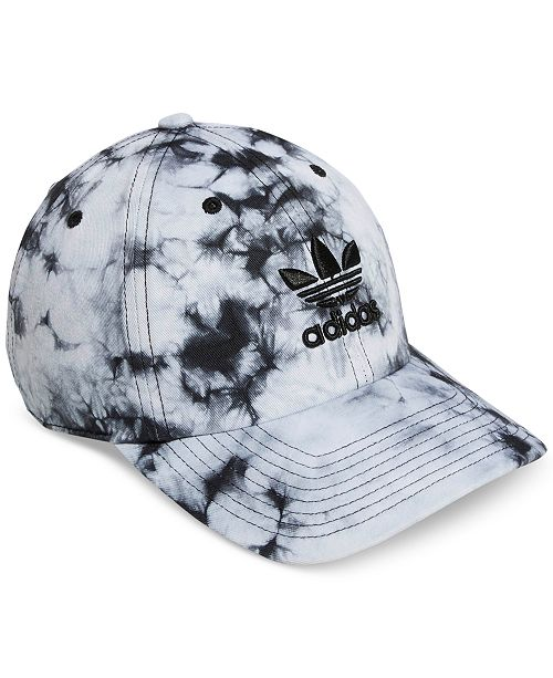 3d7e86c6 adidas Cotton Relaxed Tie-Dyed Strapback Cap & Reviews - Women's ...