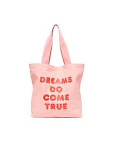 ban.do Big Canvas Tote, Dreams Do Come True