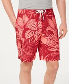 """Tommy Bahama Men's Baja Mahana Tropical-Print 9"""" Board Shorts"""