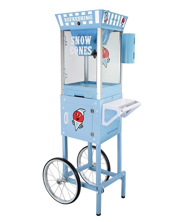 "Nostalgia Snow Cone Cart - 54"" Tall"