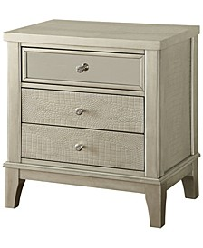 Bessie 3-drawer Nightstand