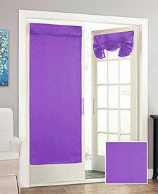 """Eclipse Tricia Room Darkening Window Door Panel, 26"""" x 68"""""""