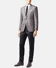 BOSS Men's Slim Fit Patterned Blazer