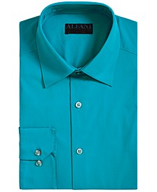 Men's Slim-Fit Performance Stretch Easy-Care Solid Dress Shirt, Created for Macy's