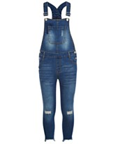 91ef3767e36 Epic Threads Big Girls Denim Overalls