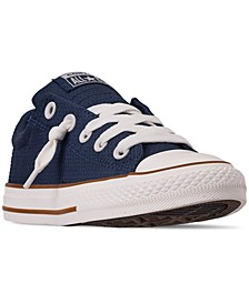Little Boys' Chuck Taylor All Star Street Slip Casual Sneakers from Finish Line