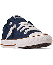 Converse Little Boys' Chuck Taylor All Star Street Slip Casual Sneakers from Finish Line