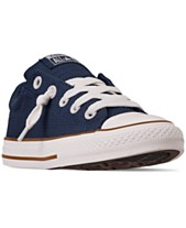 8d5f424b5090 Converse Little Boys  Chuck Taylor All Star Street Slip Casual Sneakers  from Finish Line