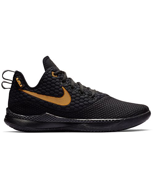 a117bdcb49a ... Nike Men s LeBron Witness III Basketball Sneakers from Finish Line ...
