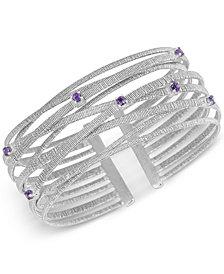 Amethyst Bracelet (1/2 ct. t.w.) in Sterling Silver