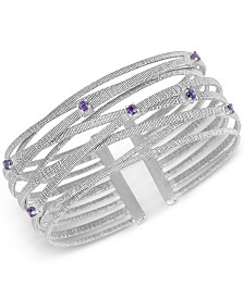 Amethyst Bracelet (1/2 ct. t.w.) in Sterling Silver