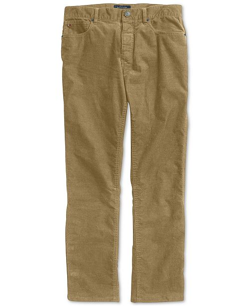 Tommy Hilfiger Richard Corduroy Pants with Magnetic Fly