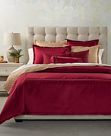 Luxe Border King Comforter, Created for Macy's