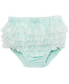 First Impressions Baby Girls Ruffled Tulle Bloomers, Created for Macy's