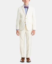Lauren Ralph Lauren Little & Big Boys 100% Wool Formal Occasion Suit Jacket & Pants Separates