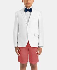 Little & Big Boys Dress Linen Suit Jacket & Shorts Separates