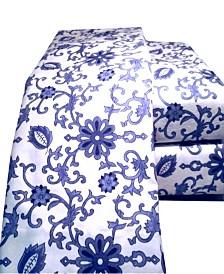 Paisley Flannel Sheet Set California King