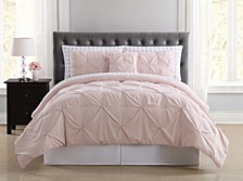 Arrow Pleated Queen Bed in a Bag