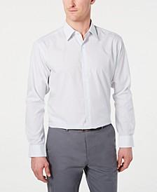 Men's Classic/Regular-Fit Check Dress Shirt, Created for Macy's