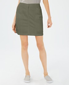 Karen Scott Petite Stretch Skort, Created For Macy's