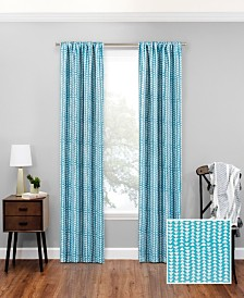 "Eclipse Naya Blackout Window 37"" x 63"" Curtain Panel"