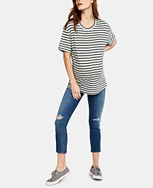 Maternity Cropped Skinny Jeans