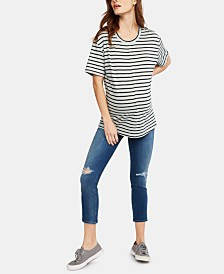 J Brand Maternity Cropped Skinny Jeans