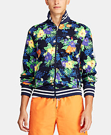 Polo Ralph Lauren Men's Tropical-Print Cotton Track Jacket