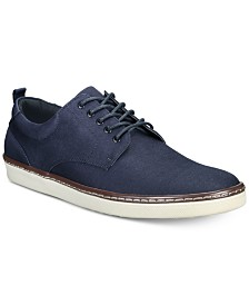 Alfani Men's Billy Twill Lace-Ups, Created for Macy's