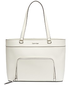 Calvin Klein Louise Leather Tote
