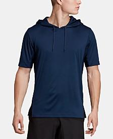 adidas Men's Short-Sleeve Hoodie