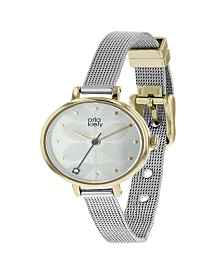 Orla Kiely Watch, Stainless Steel Mesh Bracelet