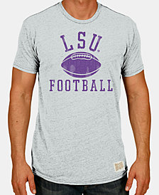Retro Brand Men's LSU Tigers Tri-Blend Vault Logo T-Shirt