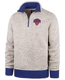'47 Brand Men's New York Knicks Kodiak Quarter-Zip Pullover