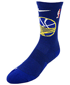 Nike Men's Golden State Warriors Elite Team Crew Socks