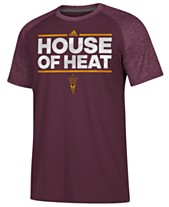 94c7a4b57d3 adidas Men s Arizona State Sun Devils Dassler City Nickname Raglan T-Shirt