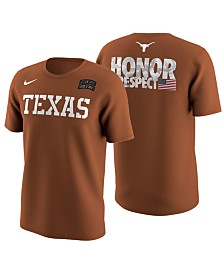 Nike Men's Texas Longhorns Honor and Respect T-Shirt